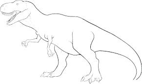 T Rex Skeleton Coloring Page Dinosaur Bones Pages Stegosaurus