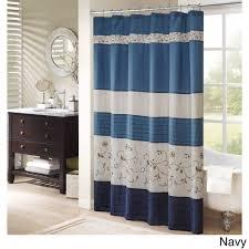 fl shower curtain madison park belle fausilk embroidered fl shower curtain madison park belle fausilk embroidered