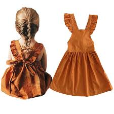1 4y <b>Summer</b> Baby <b>Dress</b> Cotton Ruffles Toddler <b>Dress Backless</b> ...