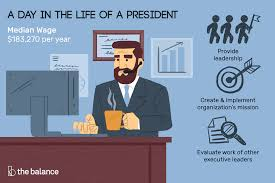 Presidential Salary History Chart President Job Description Salary Skills More