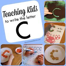 writing the letter c the measured mom