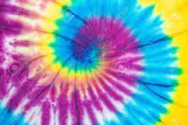 Tie Dye Swirl Design Tie Dye Spiral Vibrant And Gradient Rainbow Multicolor Hippie