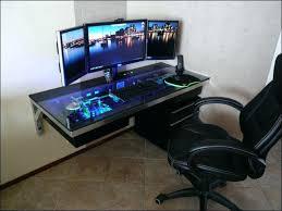 built in computer desk custom built desktop computers