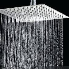ceiling mount rain shower head bathroom accessories ceiling mounted rain stainless steel shower head 6 8