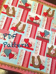Western Baby Boy Quilt Pattern Cowboy quilt pattern Lil' & Like this item? Adamdwight.com