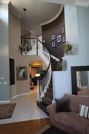 Love the dark accent wall colors.