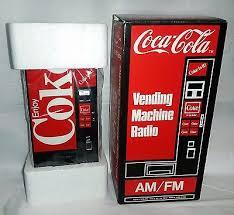 Coca Cola Vending Machine Radio Delectable 48 Vintage Coca Cola Coke Vending Machine AMFM Transistor Radio