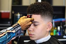 Drop Fade Haircut White