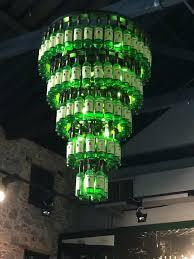 jameson whiskey bottle chandelier heck yes