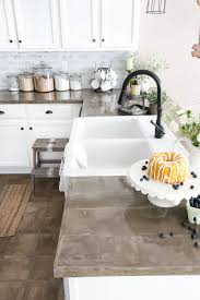 kitchen countertops inexpensive quartz countertops nice white kitchen cabinet with grey concrete countertop