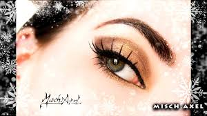 holidays look ideas brown and gold smokey eye makeup tutorial holiday version video dailymotion
