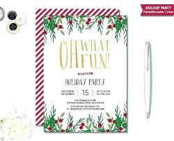 Free Holiday Party Templates Holiday Party Email Invitation Template Sulg Pro