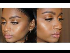 bronze dewy luminous affordable makeup tutorial