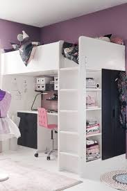 ikea bedroom ideas for teenagers. Sleeping, Working, Storage And Wardrobe Space - You Have For It All With The STUVA Loft Bed. Sydney Has Something Just Like This In Her Room Ikea Bedroom Ideas Teenagers N