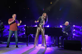 billy joel at madison square garden. Plain Square Watch Miley Cyrus And Paul Simon Perform With Billy Joel At Madison Square  Garden And At O