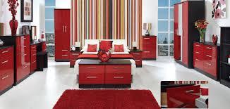 range bedroom furniture. knightsbridge white u0026 ebony gloss finish bedroom furniture range