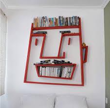 creative designs furniture. Furniture:Creative Cartoon Bookshelf Design With Red Wall Shelves Decor Ideas Creative That Steals Designs Furniture