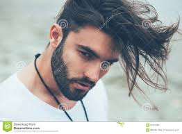 Beard And Hair Style man with beard and modern hairstyle stock photo image 61311392 4115 by wearticles.com