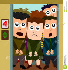 people in elevator clipart. royalty-free stock photo people in elevator clipart n