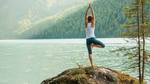 Image result for fall yoga