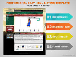 Listing Template Professional Ebay Html Listing Template For Only 39 99 Authorstream