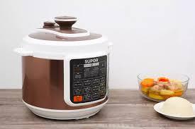 Nồi áp suất điện Supor CYSB50YC10DVN-100 5 lít Mâm nhiệt lớn giúp nấu ăn  nhanh,