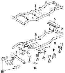 parts com® jeep frame frame and components skid plate skid plate 1989 jeep wrangler sahara l4 2 5 liter gas frame components