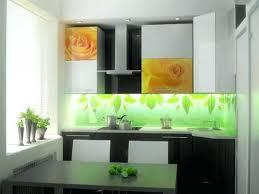 kitchen glass backsplash. Kitchen Glass With Floral Pattern Mosaic Tile Backsplash .