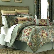 croscill galleria s sheets queen red bedding collection