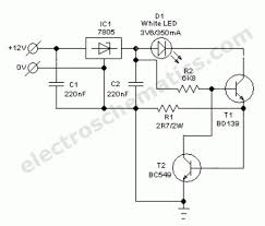 index 19 led and light circuit circuit diagram seekic com automobile white led light