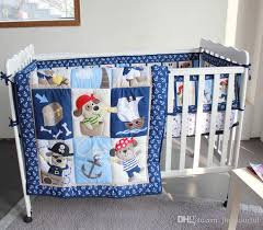 active printing cotton baby boy crib