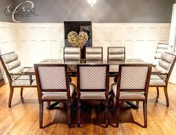 custom art mahogany dining table with chairs modern deco room set round ro