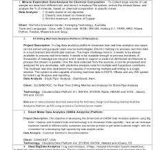 data architect sample resume