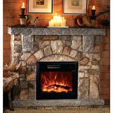 stone fireplace electric electric fireplaces stone electric fireplace canada