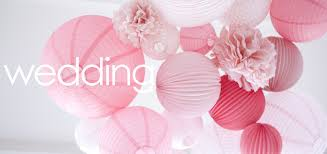 Paper Flower Balls To Hang From Ceiling How To Decorate Your Wedding With Paper Lanterns