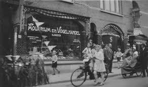 Bussum 1940 Kapelstraat Winkel Woonhuizen Bussum Oude Fotos