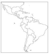 Central And South America Map Blank Barca Fontanacountryinn Com