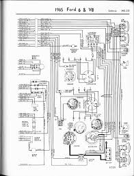 57 65 ford wiring diagrams 1965 6 v8 galaxie right