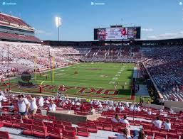 Gaylord Family Oklahoma Memorial Stadium Section 16 Seat