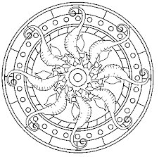 Small Picture Mandala Coloring Pages Coloring Kids