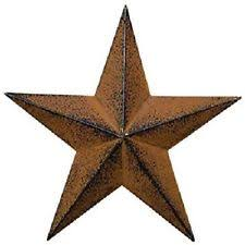 36 metal rustic dimensional barn star indoor outdoor wall home
