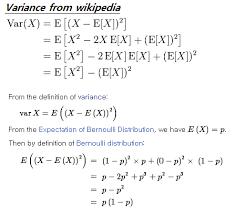 Variance Formula How To Understand The Variance Formula Mathematics Stack