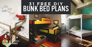 40 DIY Bunk Bed Plans Ideas That Will Save A Lot Of Bedroom Space Interesting 3 Bedrooms For Sale Set Plans