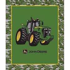 John Deere Throw Blanket