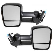 Amazon.com: Towing Mirrors 2003-2007 Chevy/GMC Silverado/Sierra ...