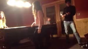 Girl peeing pad video
