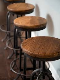 metal bar stools with wood seat. Bar Stools:Charming Metal Stools With Wood Seat Back Black Round Wooden Design Interesting I