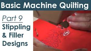 Stippling and Filler Patterns on Your Home Sewing Machine Free ... & Stippling and Filler Patterns on Your Home Sewing Machine Free Motion  Quilting - YouTube Adamdwight.com