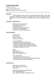 Target Resume Examples Sample Of Targeted Resume Savebtsaco 3