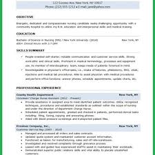 Example Student Resume Extraordinary Cv Examples Student Nurse 48 Lpn Resume Objective New Graduate